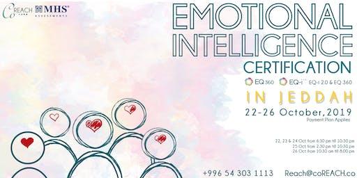 Emotional Intelligence EQ-i 2.0 & EQ 360 Certification in Jeddah (Paid Program)