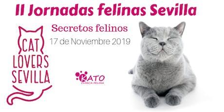 2ª Jornadas felinas Sevilla. Secretos felinos.  entradas