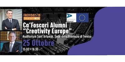 Creativity Europe con gli Alumni di Ca' Foscari