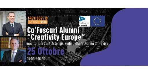 Creativity Europe con gli Alumni di Ca' Foscari