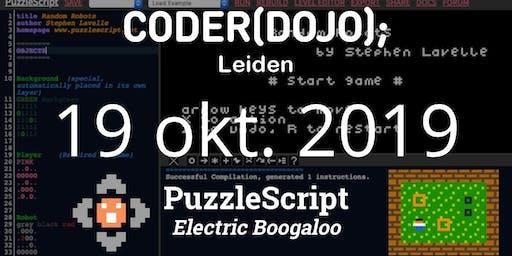 CoderDojo Leiden #64 | Puzzelgames maken (deel 2)