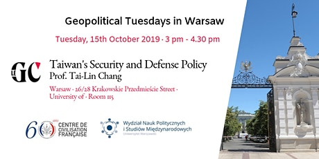 Geopolitical Tuesdays in Warsaw tickets