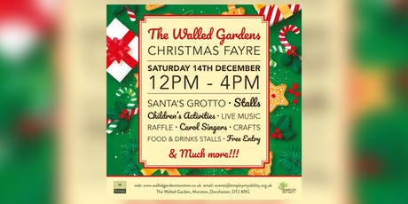 Christmas Fayre at The Walled Garden tickets