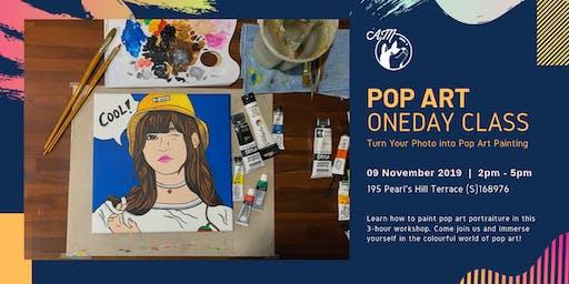Pop Art Portraiture Painting Workshop (3 hours)