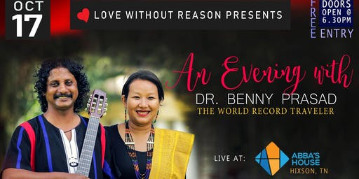 An Evening With Benny Prasad (World Record holder - 257 nations)