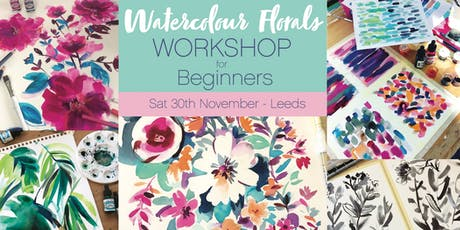 Watercolour Florals for Beginners Workshop tickets