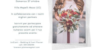 Open Day Wedding 27 Ottobre