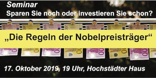 """Seminar """"Die Regeln der Nobelpreisträger"""""""