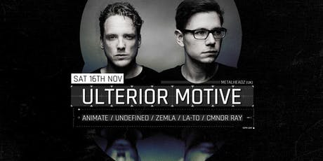 Ulterior Motive (UK) tickets