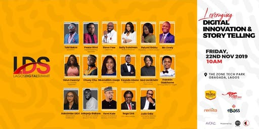 Lagos Digital Summit, 2019