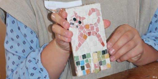 Die Kunst der Römer - Mosaiken selbst colorieren und gestalten