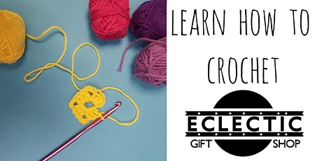 Learn How to Crochet (Adults) tickets