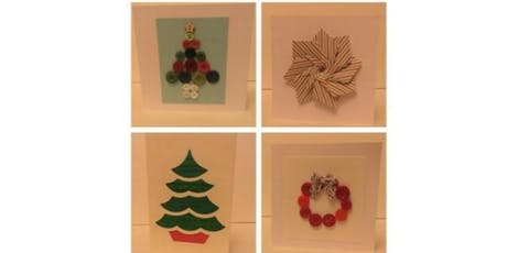 Christmas Card Making Workshop tickets
