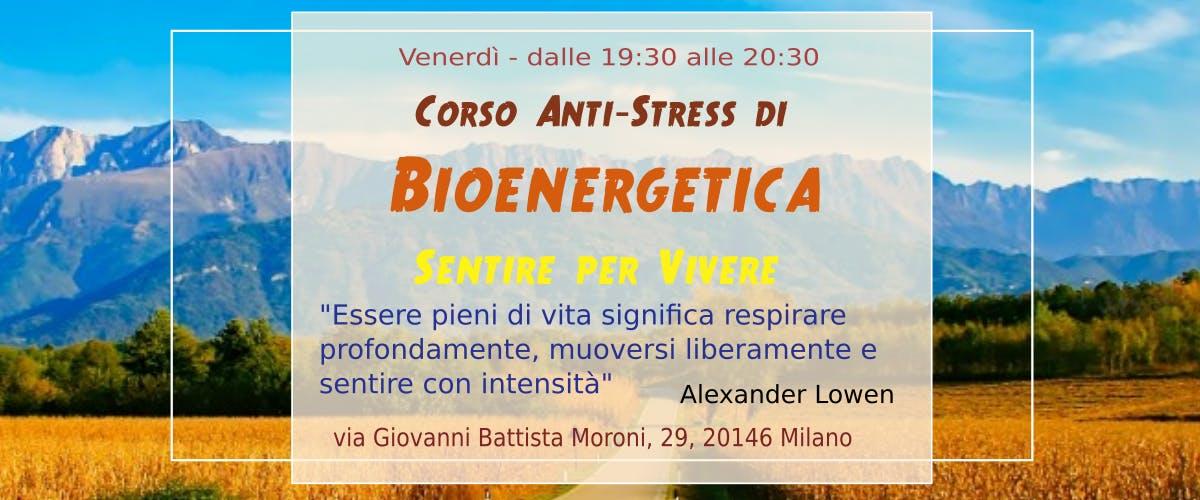 Corso di Bioenergetica Anti-Stress