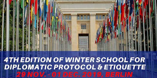 Winter School for Diplomatic Communication Protocol & Etiquette