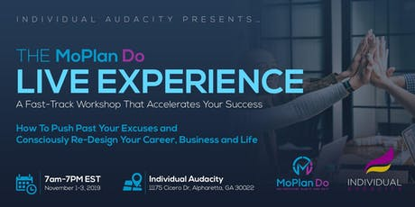 Individual Audacity Presents… The MoPlan Do Live Experience tickets