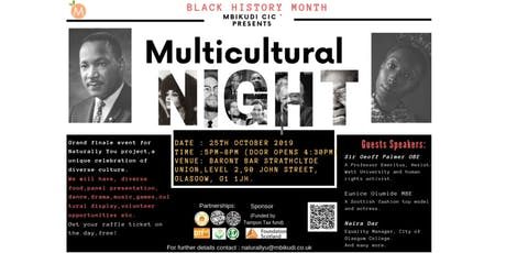 Multicultural Night: The uniqueness of  culture and diversity tickets