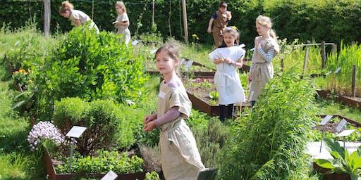 Spielen wie römische Kinder - Herstellen einer römischen Lederkreismühle