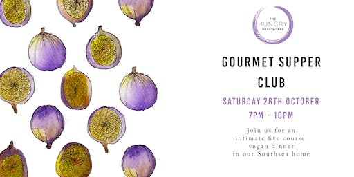 Gourmet Vegan Supper Club