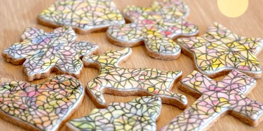Vegan Christmas Stained Glass Cookies Class