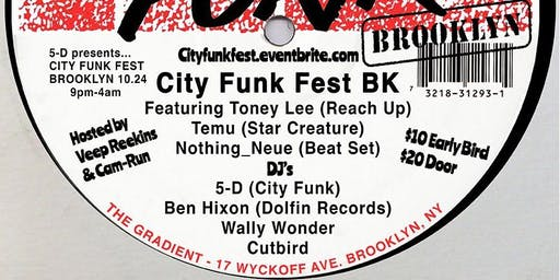 CITY FUNK FEST BROOKLYN