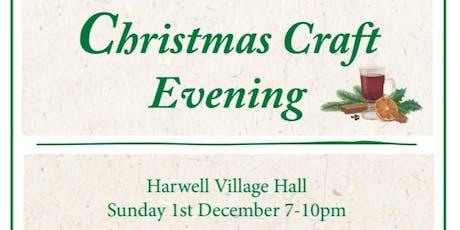 Christmas Craft Evening  tickets