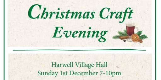 Christmas Craft Evening