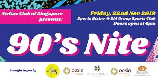ACS Presents: 90s Nite!