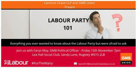 Labour Party 101 tickets