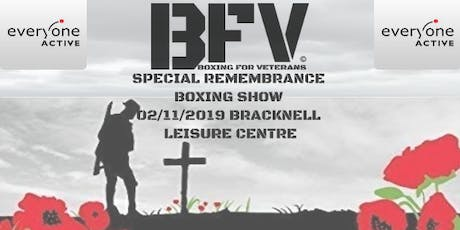 Boxing For Veterans Remembrance Bracknell tickets