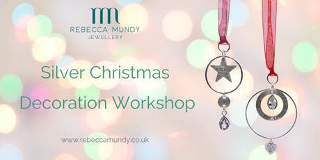 Silver Christmas Decoration Workshop tickets