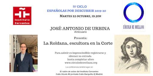 La Roldana, escultora en la Corte por José Antonio de Urbina
