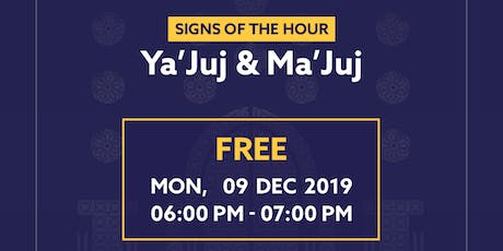 Ya'Juj & Ma'Juj (Major Sins Series) tickets