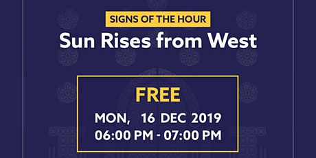 Sun Rises from West(Major Sins Series) tickets