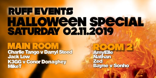 RUFF Halloween Event
