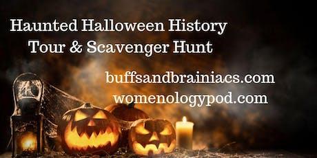 Haunted Halloween History Tour & Scavenger Hunt tickets