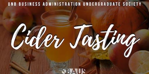 BAUS Cider Tasting