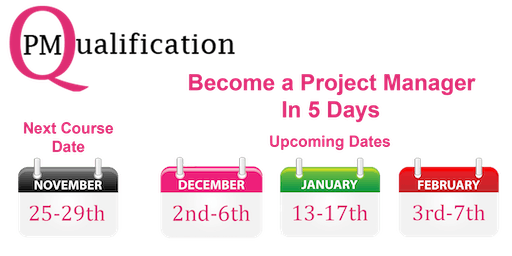 Project Management Qualification (PMQ) in 5 days