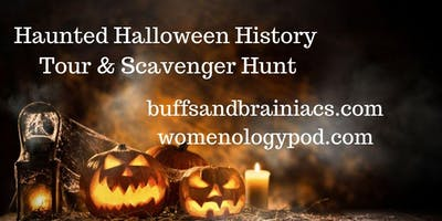 Haunted Halloween Scavenger Hunt