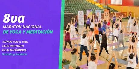 8° Maratón Nacional de Yoga y Meditación entradas