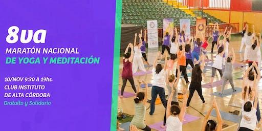8° Maratón Nacional de Yoga y Meditación