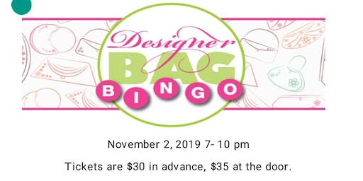 Designer Bag Bingo Blackwood Fire Company