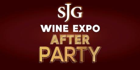 SJG Wine Expo After Party - Saturday, Nov. 2 tickets