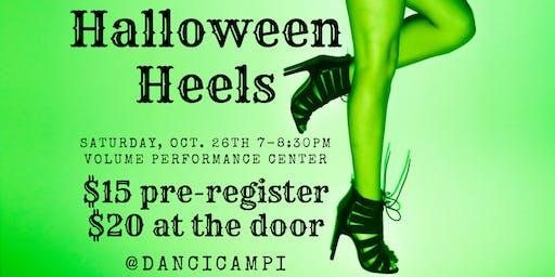 HALLOWEEN HEELS Adult Dance Class w/ CAMPI