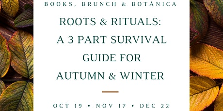 Roots & Rituals Part 3: Sustainable Smoke Cleansing, Smudging & Meditation tickets