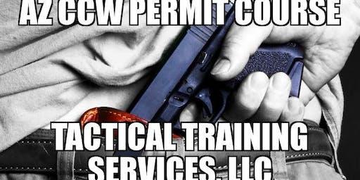 AZ Concealed Carry Permit Class - Kingman, AZ