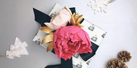 Paper Flower Gift Topper Workshop with Paper Meadow Studio tickets
