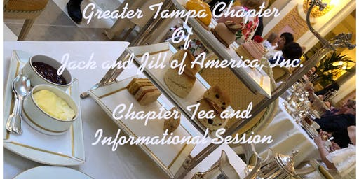 Greater Tampa Chapter of Jack and Jill of America, Inc. Chapter Tea