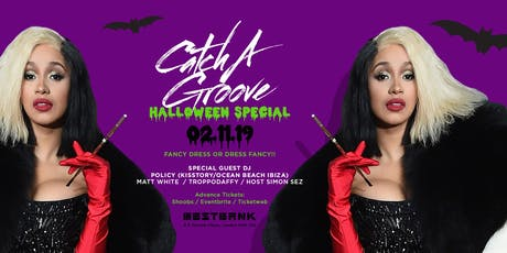 Catch A Groove - Halloween Special - Sat 2nd Nov tickets