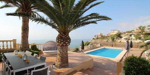 Spanien / Durchbruch beim Strandretreat mit Haus 2
